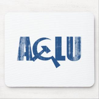 ACLU comunista Faded.png Alfombrillas De Ratón