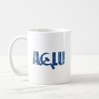 ACLU comunista Faded.png Taza De Café