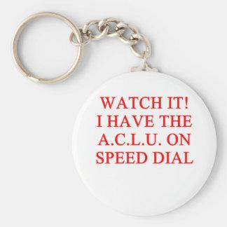 ACLU joke Keychains