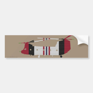 ACM Ribbon Chinook Bumper Sticker