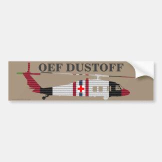 ACM Ribbon OEF DUSTOFF Bumper Sticker