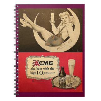 acme beer notebook