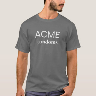ACME, condoms T-Shirt