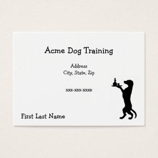 Acme Dog Training Business Card