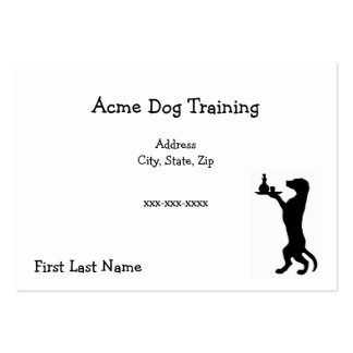 Acme Dog Training Large Business Cards (Pack Of 100)