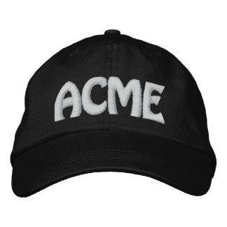 ACME EMBROIDERED BASEBALL HAT