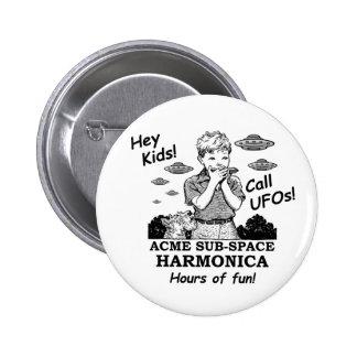 Acme Sub-Space Harmonica (Calls UFOs) Button