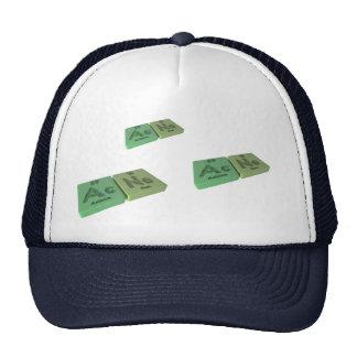 Acne as Ac Actinium  and Ne Neon Trucker Hat