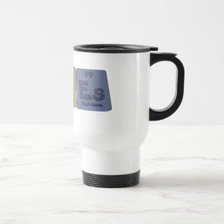 Acnes-Ac-N-Es-Actinium-Nitrogen-Einsteinium Travel Mug