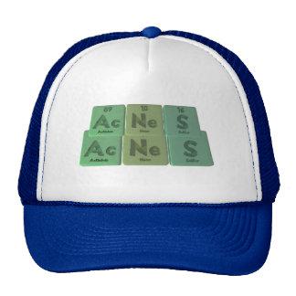 Acnes-Ac-Ne-S-Actinium-Neon-Sulfur Trucker Hat