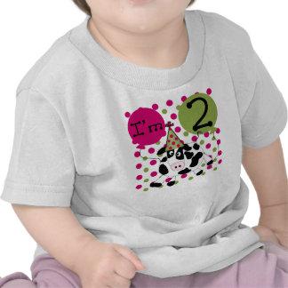 Acobarde el 2do cumpleaños camiseta