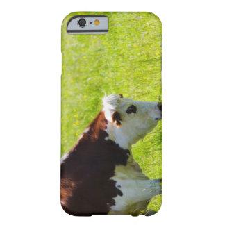 Acobarde el pasto en un campo, el valle del Loira, Funda De iPhone 6 Barely There