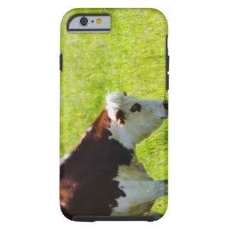 Acobarde el pasto en un campo, el valle del Loira, Funda Para iPhone 6 Tough