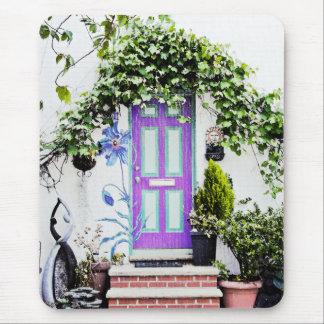 Acoger con satisfacción la entrada en púrpura tapete de ratón