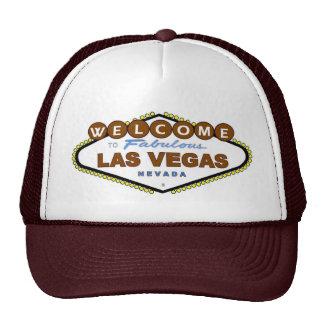 Acoja con satisfacción a Las Vegas fabuloso Brown  Gorro De Camionero