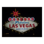 Acoja con satisfacción a Las Vegas fabuloso Nevada Posters