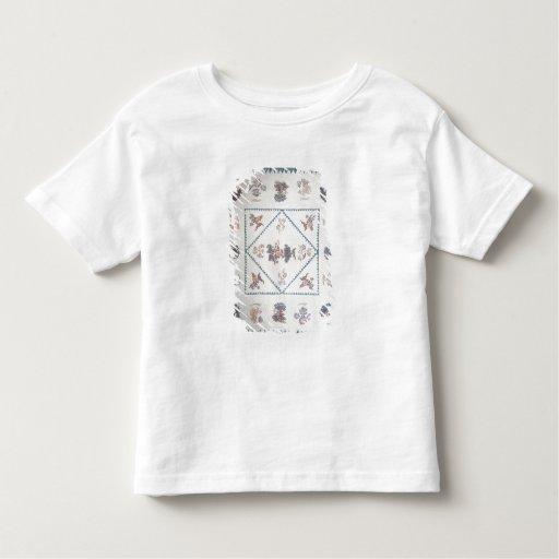 """Acolche en el """"Broderie Perse"""", c.1800 (aplicado, Camisetas"""