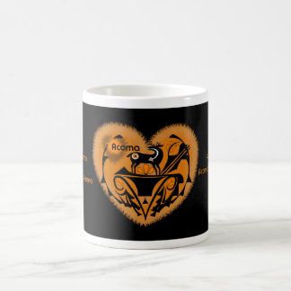 Acoma Heartline Deer Magic Mug