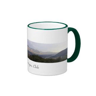Aconcagua Valley, Chile Ringer Coffee Mug