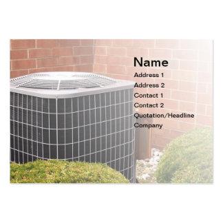 acondicionador de aire plantilla de tarjeta de visita