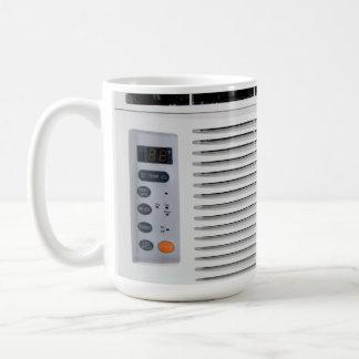 Acondicionador de aire taza básica blanca