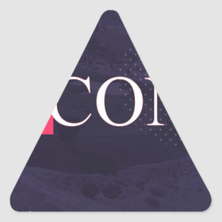ACONIC TRIANGLE STICKER