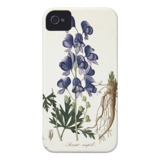 Aconitum Napellus from 'Phytographie Medicale' by Case-Mate iPhone 4 Case