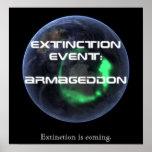 Acontecimiento de extinción: Armageddon: Poster de