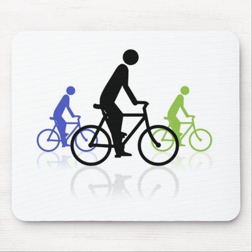 Acontecimiento de la bici mouse pads