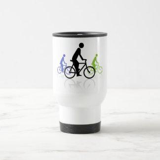 Acontecimiento de la bici taza térmica