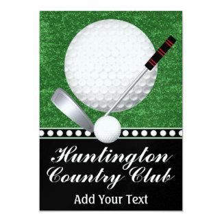 """Acontecimiento del golf - SRF Invitación 5"""" X 7"""""""