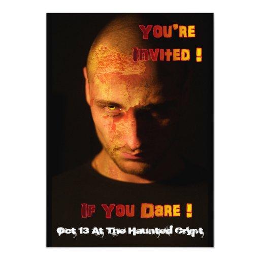 Acontecimiento del zombi invitación 12,7 x 17,8 cm