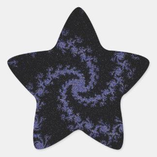Acontecimiento ideal pegatina en forma de estrella