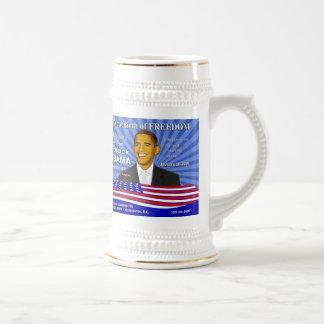 Acontecimiento Stein de la inauguración de Obama B Tazas De Café