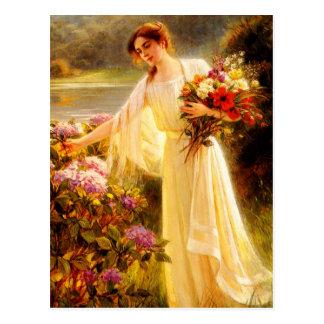 Acopio de las flores postales