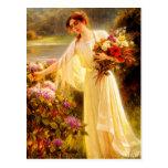 Acopio de las flores tarjetas postales