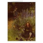Acopio de pensamientos de Laura Teresa Alma-Tadema Tarjeta De Felicitación