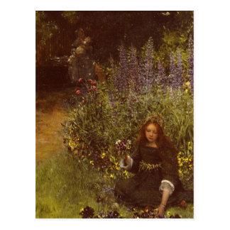 Acopio de pensamientos de Laura Teresa Alma-Tadema Tarjetas Postales
