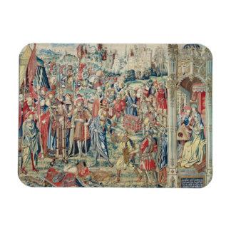 Acopio del botín, de la tapicería de David y de Ba Iman