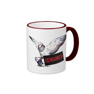 Acoplamiento de las palomas ¡Censurado Tazas De Café