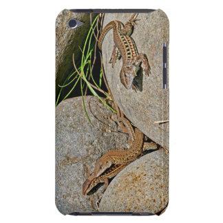 Acoplamiento de los lagartos iPod Case-Mate protector