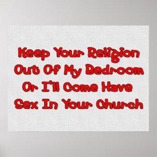 Acoplamiento en su iglesia poster