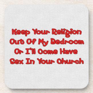 Acoplamiento en su iglesia posavaso