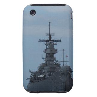 Acorazado USS Missouri Tough iPhone 3 Fundas