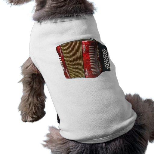 Acordeón Camisetas De Perro
