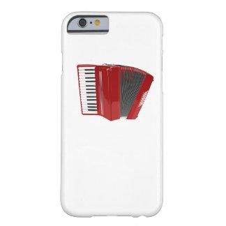 Acordeón rojo funda de iPhone 6 slim