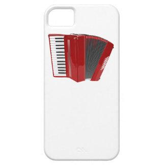 Acordeón rojo iPhone 5 cobertura