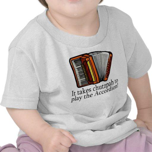 Acordeón-valor Camisetas