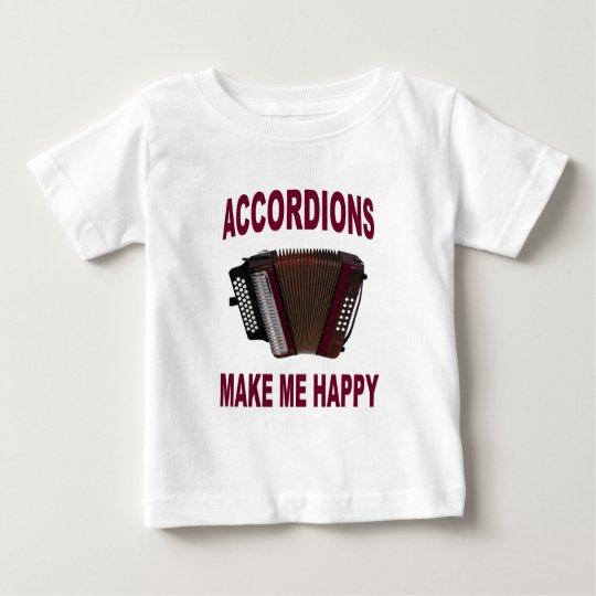 ACORDEONES HAPPY.jpg Playera De Bebé