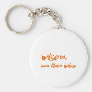 Açores é para quem ama key chain